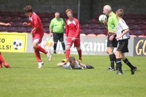 Jaze Kabia fouled