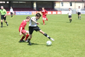Rory Doyle controlling the midfield