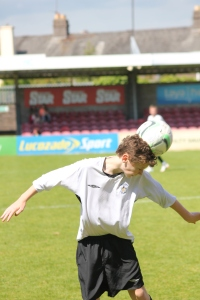 Fionn Moore becomes the ball...